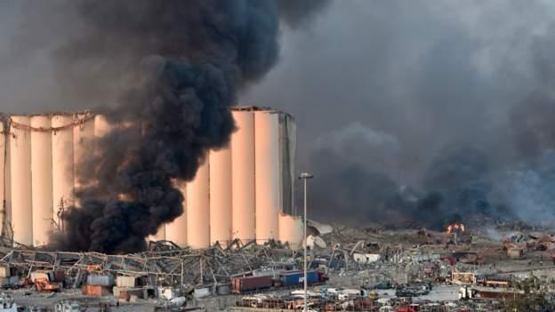 लेबनानमा शक्तिशाली विस्फोट : मृतकको संख्या ७० पुग्यो