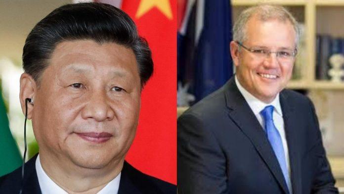अष्ट्रेलिया–चीन सम्बन्ध धरापमा