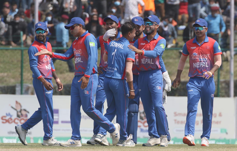 नेपाली क्रिकेट टोली स्वदेश फर्किए